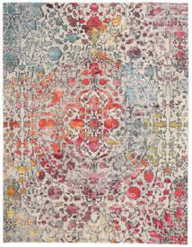 Kaleidoscope - Multi Teppe 240X300 Moderne Lys Grå/Mørk Brun ( Tyrkia)