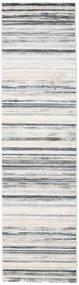 Layered - Grå/Beige Teppe 80X300 Moderne Teppeløpere Lys Grå/Hvit/Creme ( Tyrkia)