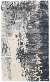 Kaskad - Grå/Cream Teppe 100X160 Moderne Mørk Grå/Lys Grå ( Tyrkia)