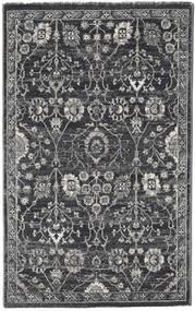 Zanjan - Mørk Grå Teppe 100X160 Moderne Mørk Grå/Lys Grå ( Tyrkia)
