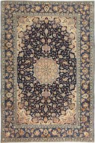 Najafabad Patina Teppe 231X353 Ekte Orientalsk Håndknyttet Lys Grå/Svart (Ull, Persia/Iran)