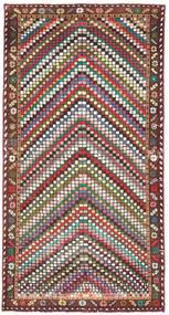 Bakhtiar Patina Teppe 100X198 Ekte Orientalsk Håndknyttet Beige/Mørk Brun (Ull, Persia/Iran)