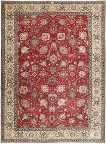 Tabriz Patina Teppe 284X390 Ekte Orientalsk Håndknyttet Mørk Brun/Lys Grå Stort (Ull, Persia/Iran)