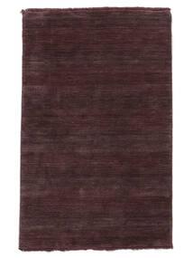 Handloom Fringes - Deep Wine Teppe 160X230 Moderne Mørk Lilla/Mørk Brun (Ull, India)