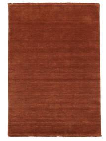Handloom Fringes - Deep Rust Teppe 140X200 Moderne Rust/Rød/Mørk Rød (Ull, India)