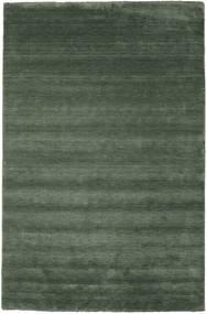 Handloom Fringes - Skogsgrønn Teppe 300X400 Moderne Olivengrønn/Mørk Grønn Stort (Ull, India)
