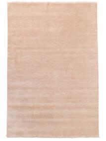 Handloom Fringes - Rosrosa Teppe 200X300 Moderne Lyserosa/Beige (Ull, India)