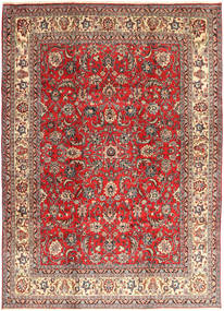 Hamadan Shahrbaf Teppe 235X327 Ekte Orientalsk Håndknyttet Mørk Rød/Rust (Ull, Persia/Iran)