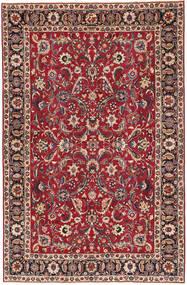 Mashad Patina Teppe 197X300 Ekte Orientalsk Håndknyttet Mørk Rød/Rød (Ull, Persia/Iran)