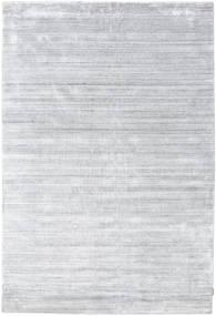 Bamboo Silke Loom - Grå Teppe 200X300 Moderne Hvit/Creme/Lys Grå ( India)