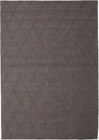 Svea - Mørk Brun Teppe 250X350 Ekte Moderne Håndvevd Brun/Mørk Brun Stort (Ull, India)