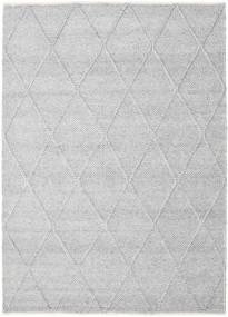 Svea - Sølvgrå Teppe 160X230 Ekte Moderne Håndvevd Lys Grå/Hvit/Creme (Ull, India)