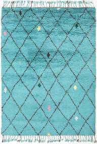 Alta - Turquoise Teppe 160X230 Ekte Moderne Håndknyttet Lys Blå/Turkis Blå (Ull, India)