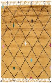 Alta - Gull Teppe 120X180 Ekte Moderne Håndknyttet Lysbrun/Gul (Ull, India)