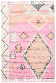 Odda - Pink Teppe 160X230 Ekte Moderne Håndknyttet Lyserosa/Hvit/Creme (Ull, India)