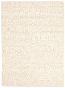 Bubbles - Natural Vit Teppe 170X240 Moderne Beige (Ull, India)