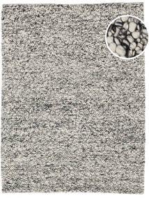 Bubbles - Melange Grå Teppe 300X400 Moderne Lys Grå/Turkis Blå Stort (Ull, India)