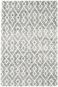 Hudson - Melange Svart Teppe 200X300 Moderne Lys Grå/Beige (Ull, India)