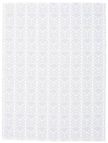 Utendørsteppe Arch - Grå Teppe 150X200 Moderne Hvit/Creme/Beige ( Sverige )