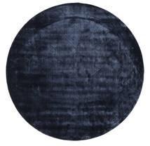 Brooklyn - Midnatt-Blå Teppe Ø 300 Moderne Rundt Mørk Blå/Blå Stort ( India)