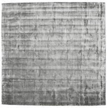 Broadway - Misty Grey Teppe 250X250 Moderne Kvadratisk Lys Grå/Mørk Grå Stort ( India)