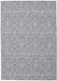 Utendørsteppe Palace - Mørk Blå/Beige Teppe 200X300 Moderne Lys Grå/Mørk Grå ( Tyrkia)