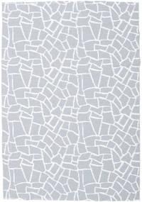 Utendørsteppe Terrazzo - Grå/Vit Teppe 200X280 Moderne Lys Blå/Beige ( Sverige )