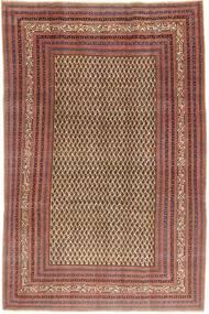 Arak Patina Teppe 212X320 Ekte Orientalsk Håndknyttet Mørk Rød/Lysbrun (Ull, Persia/Iran)