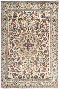 Yazd Patina Teppe 237X365 Ekte Orientalsk Håndknyttet Lys Grå/Beige (Ull, Persia/Iran)