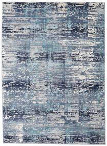 Molgan Teppe 142X206 Moderne Lys Blå/Blå ( Tyrkia)