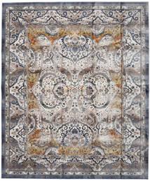 Minna - Gull Teppe 244X304 Moderne Lys Grå/Mørk Grå ( Tyrkia)