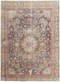 Colored Vintage Teppe 262X358 Ekte Moderne Håndknyttet Lys Grå/Lysbrun Stort (Ull, Persia/Iran)