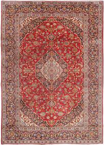 Najafabad Teppe 270X380 Ekte Orientalsk Håndknyttet Mørk Rød/Lysbrun Stort (Ull, Persia/Iran)