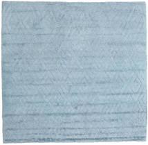 Soho Soft - Sky Blå Teppe 250X250 Moderne Kvadratisk Lys Blå Stort (Ull, India)