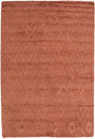 Soho Soft - Terracotta Teppe 140X200 Moderne Rød/Mørk Rød (Ull, India)