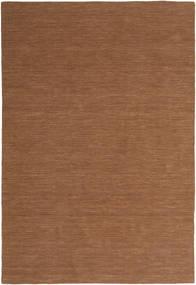 Kelim Loom - Brun Teppe 200X300 Ekte Moderne Håndvevd Brun (Ull, India)