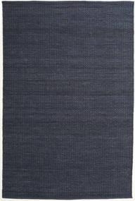 Alva - Blå/Svart Teppe 200X300 Ekte Moderne Håndvevd Mørk Blå/Lilla (Ull, India)