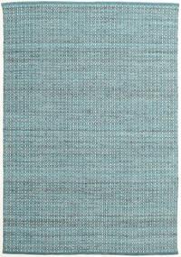 Alva - Turquoise/Vit Teppe 160X230 Ekte Moderne Håndvevd Lys Blå/Mørk Turkis (Ull, India)