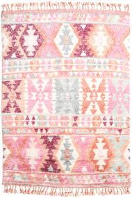 Märta - Pink Teppe 160X230 Ekte Moderne Håndknyttet Lyserosa/Beige (Ull, India)