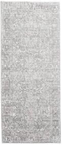 Maharani - Grå Teppe 80X200 Moderne Teppeløpere Lys Grå/Hvit/Creme ( Tyrkia)