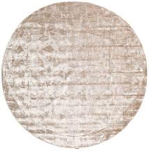 Crystal - Soft_Beige Teppe Ø 250 Moderne Rundt Hvit/Creme/Lys Grå Stort ( India)
