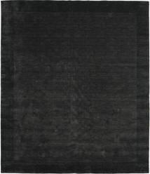 Handloom Frame - Svart/Mørk Grå Teppe 250X300 Moderne Svart Stort (Ull, India)