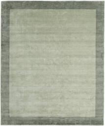 Handloom Frame - Grå/Grønn Teppe 250X300 Moderne Lysgrønn/Pastell Grønn Stort (Ull, India)