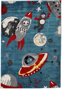 Astronauts Teppe 160X230 Moderne Mørk Blå ( Tyrkia)