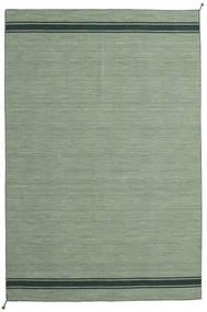 Ernst - Grønn/Mørk _Green Teppe 200X300 Ekte Moderne Håndvevd Olivengrønn/Lysgrønn/Pastell Grønn (Ull, India)