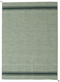 Ernst - Grønn/Mørk _Green Teppe 170X240 Ekte Moderne Håndvevd Lysgrønn/Pastell Grønn (Ull, India)