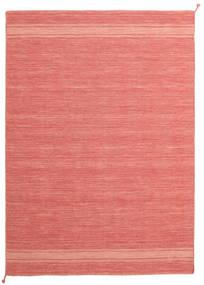 Ernst - Coral/Light_Coral Teppe 170X240 Ekte Moderne Håndvevd Lyserosa/Rød (Ull, India)