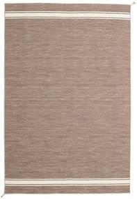 Ernst - Lys Brun/Off White Teppe 250X350 Ekte Moderne Håndvevd Lys Grå Stort (Ull, India)