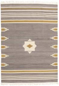 Tribal - Grå Teppe 160X230 Ekte Moderne Håndvevd Lys Grå/Beige (Ull, India)