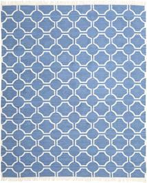London - Blå/Off White Teppe 250X300 Ekte Moderne Håndvevd Blå/Lys Blå Stort (Ull, India)